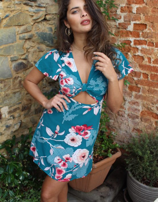 R Kelly Dress TEAL (3)
